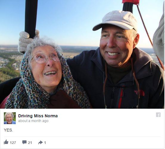 90-year-old woman opts for epic road trip over cancer treatment