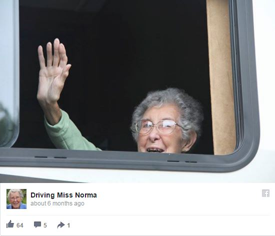 Grandma takes cross-country road trip, not cancer treatment