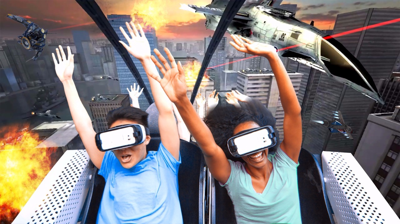 Theme park watch: Virtual reality roller coasters arrive