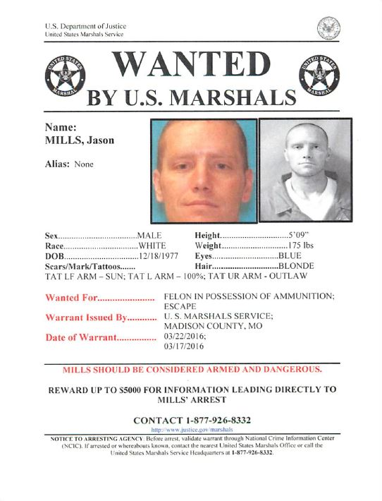 Federal Warrant Issued For Escaped Inmate Ksdk Com