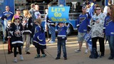 Photos: STL Blues Game 1 Playoff Plaza Party