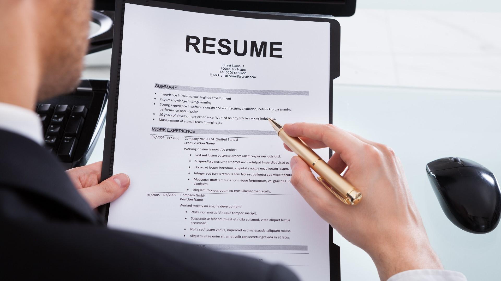 5 tips for writing a good resume ksdk com