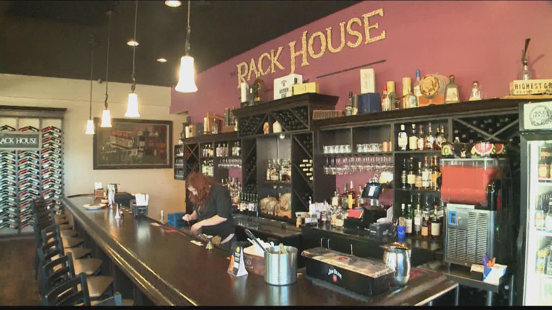 the rack house in cottleville debuts new menu today. Black Bedroom Furniture Sets. Home Design Ideas