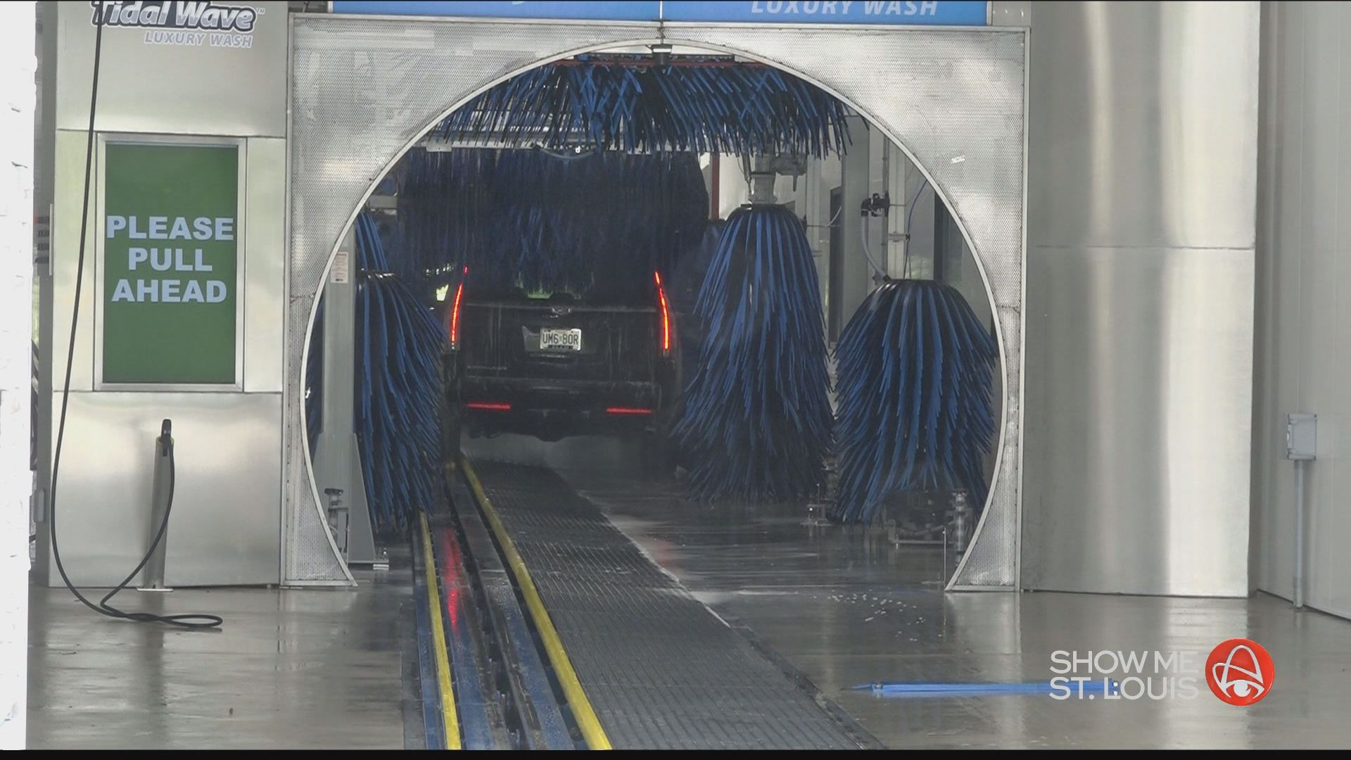 Gas Station With Drive Thru Car Wash >> Tidal Wave Luxury Car Wash offering free car washes Saturday at Grand Opening | KSDK.com