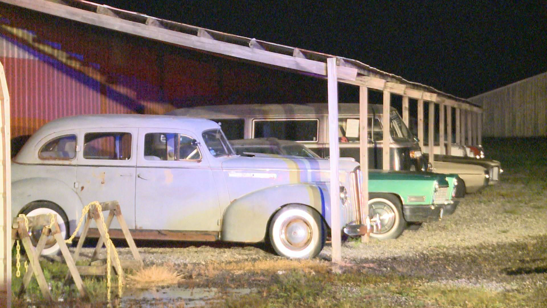 Fire Damages Country Classic Cars In Staunton Illinois