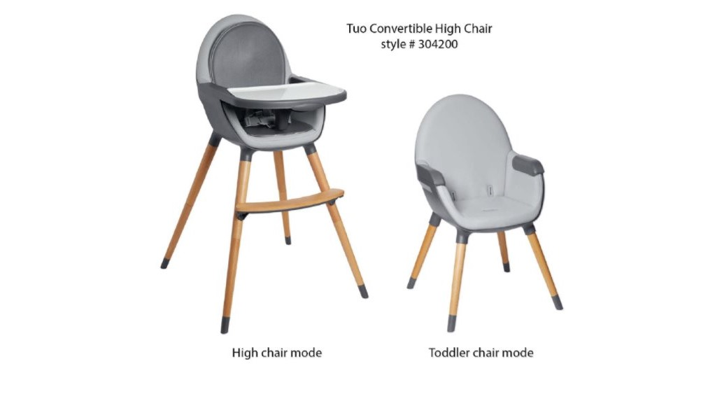 Skip Hop recalls high chairs due to fall hazard